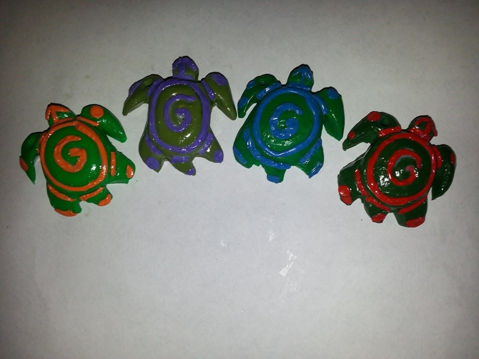 Sea Turtle Pendants by ScoopGirl