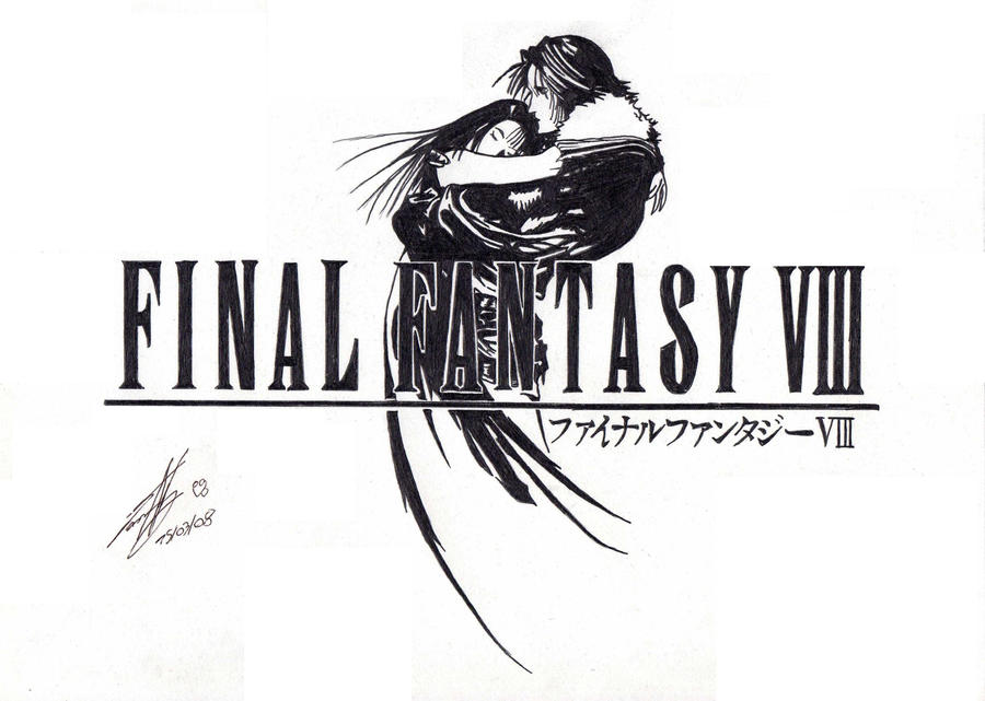 Viii Tattoo Final fantasy VIII logo