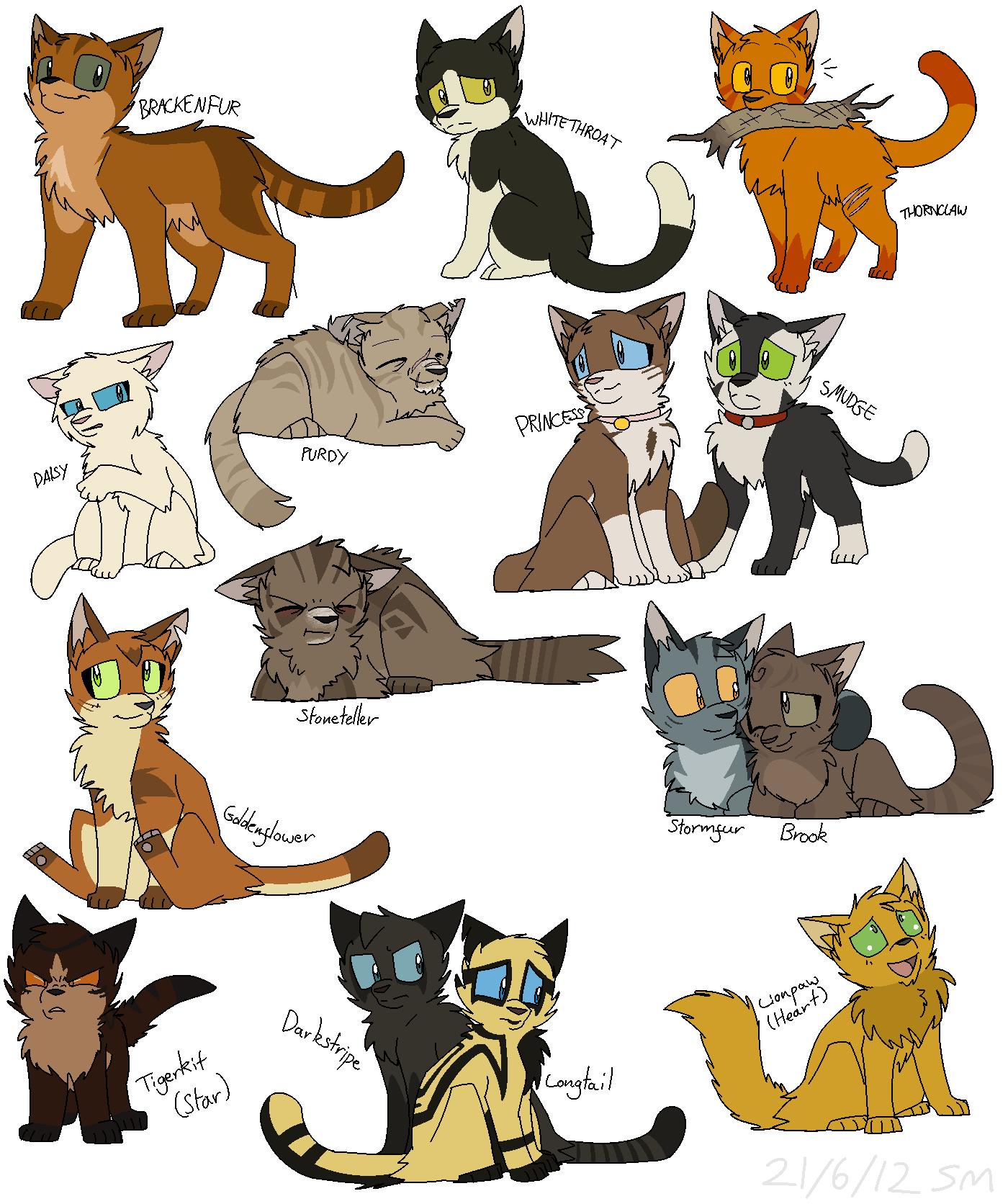 Warrior Cat Herbs For Kitting
