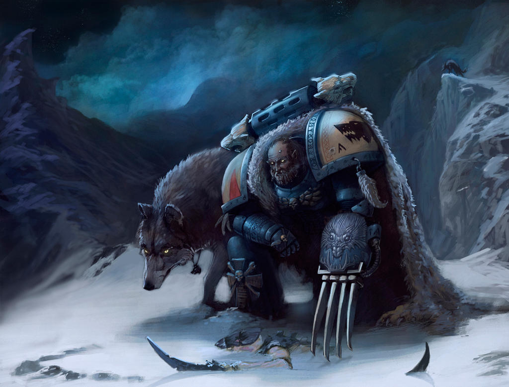 Space Wolves by Denewer