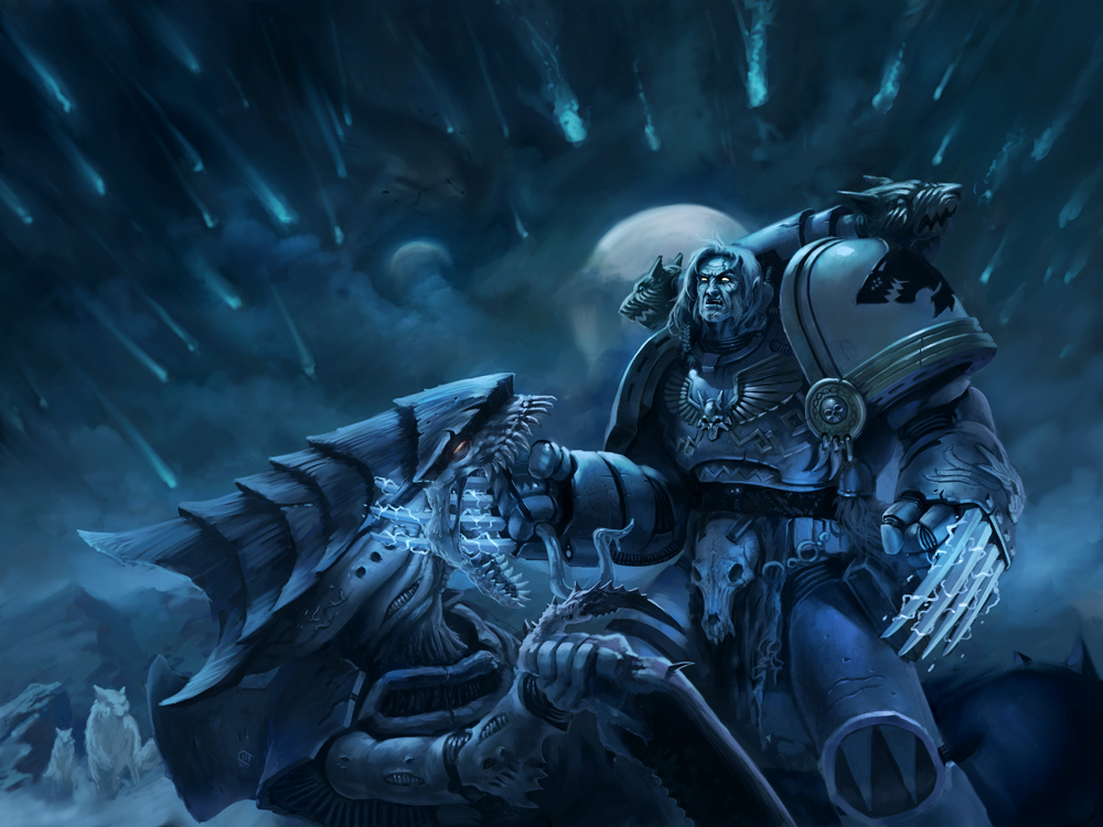 Space Wolves: Apofeoz by Denewer