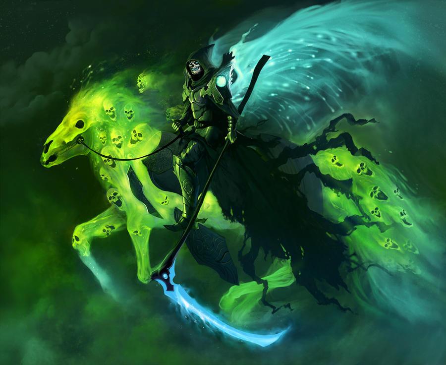 Grim Reaper by Denewer... Cool Grim Reaper Drawings