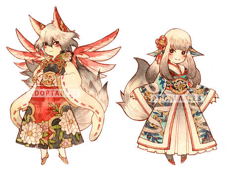 Adoptable 07 foxes [CLOSED]