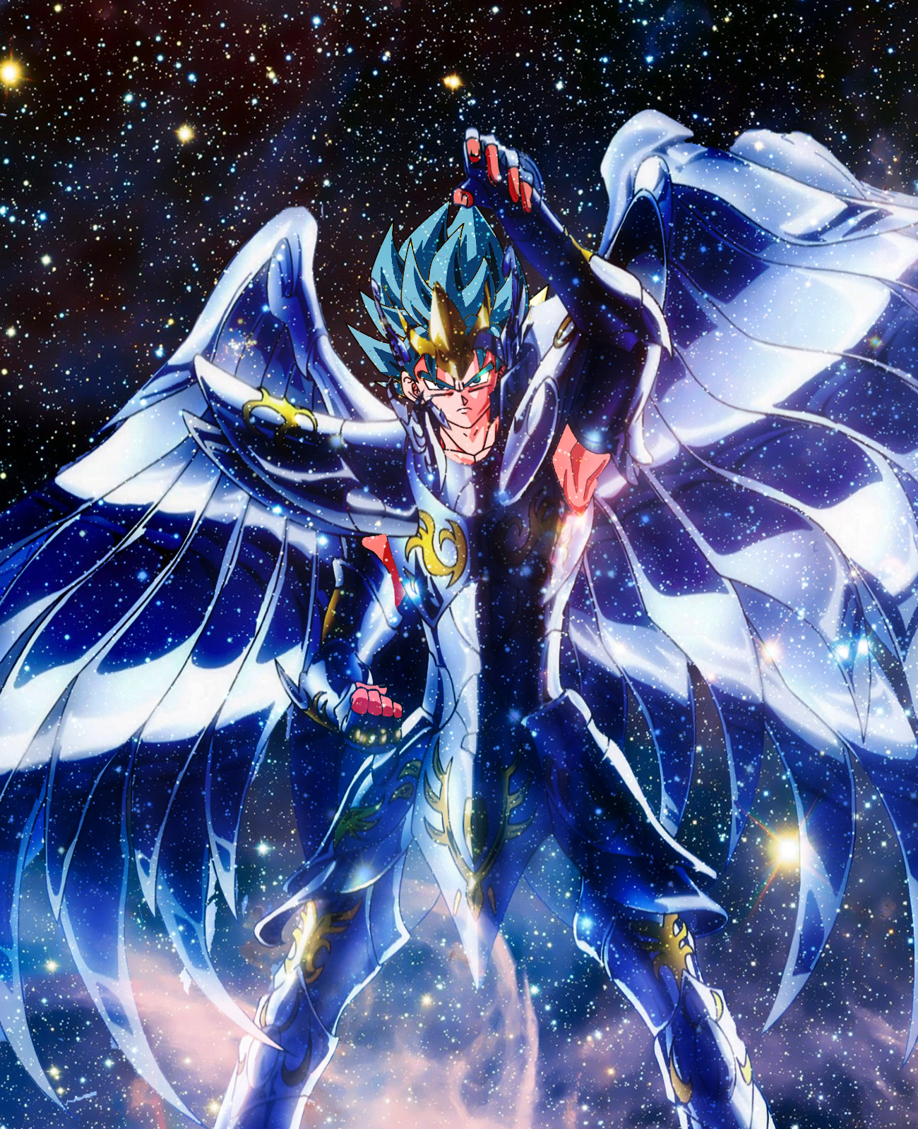 Goku super saiyan god omnipotent by shuma3 on deviantart - Foto goku super saiyan god ...