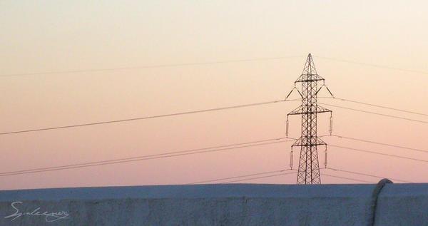 Pylon at Sunrise II by Spleenog