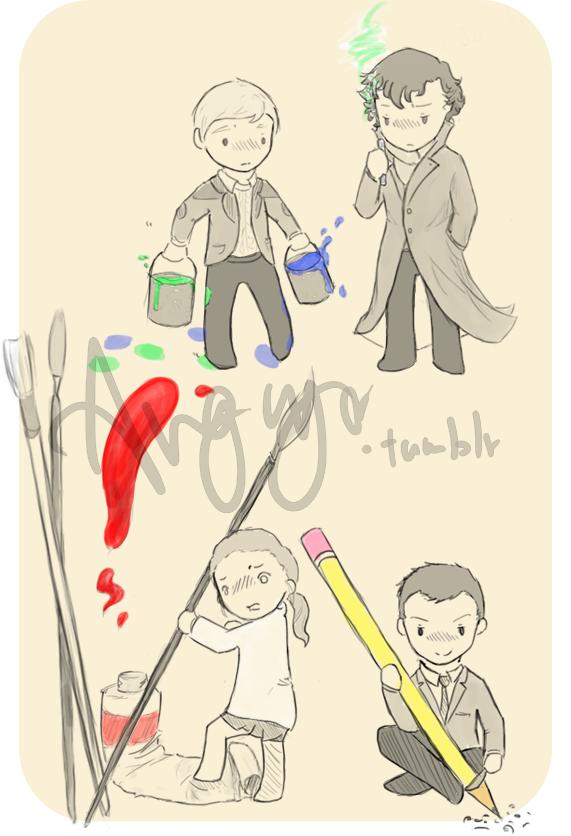 Sherlock, that's not helping... by Angiyr