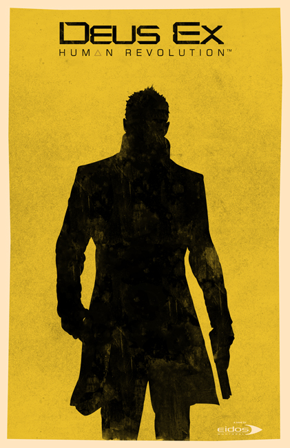 Deus Ex Human Revolution poster by billpyle