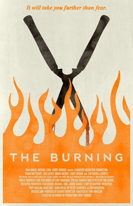 The Burning poster by billpyle