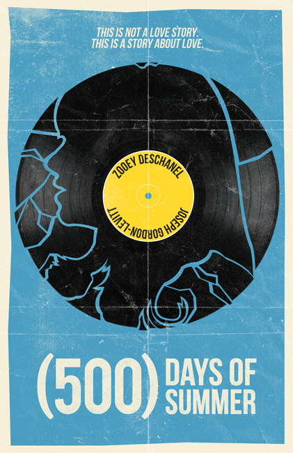 (500) Days Of Summer movie poster by billpyle on DeviantArt