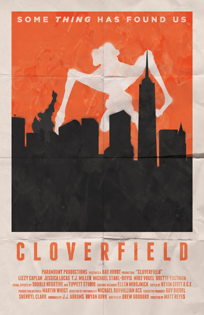 Cloverfield movie poster by billpyle