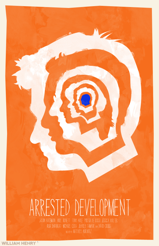 Arrested Development poster by billpyle