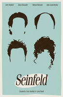Seinfeld poster by billpyle