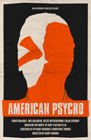 American Psycho poster by billpyle