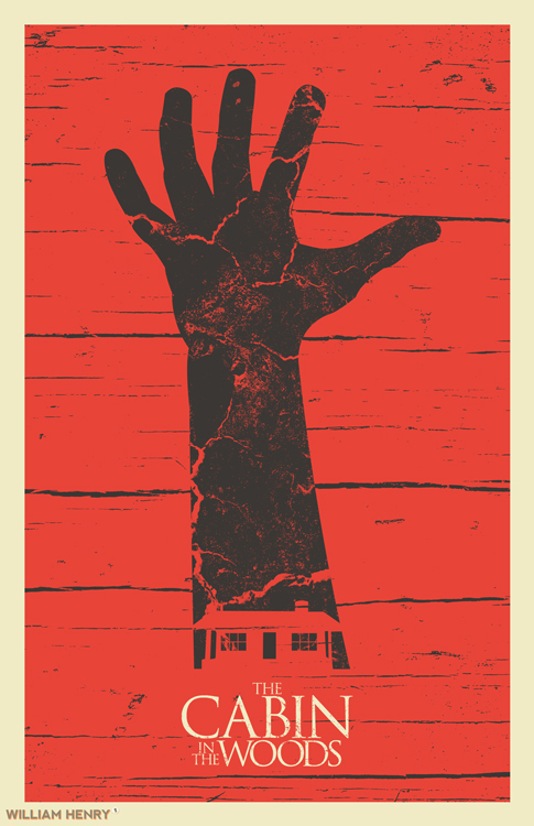 The Cabin In The Woods Poster By Billpyle On Deviantart