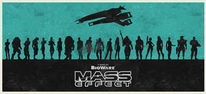 Mass Effect series poster