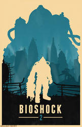 Bioshock 2 poster by billpyle