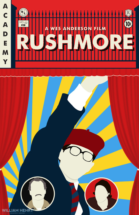Rushmore poster by billpyle on DeviantArt