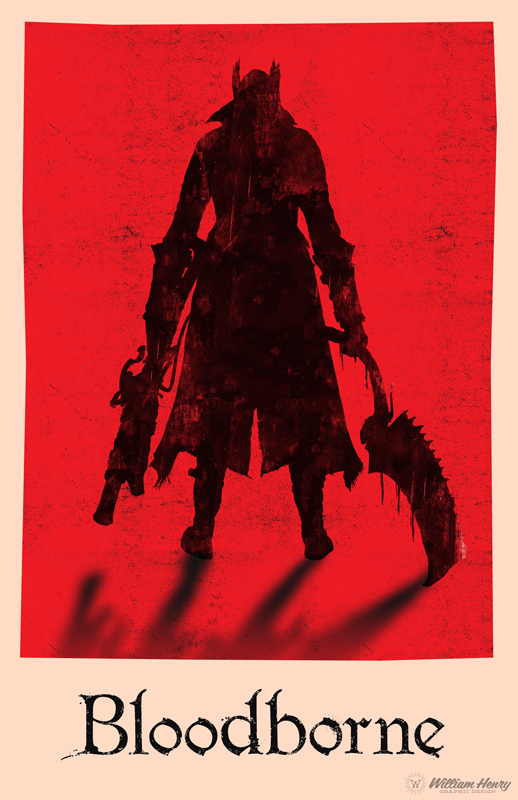 Bloodborne poster by billpyle