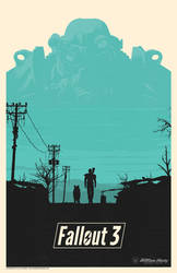 Fallout 3 poster by billpyle