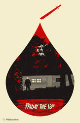 Horror Icons: Friday The 13th by billpyle