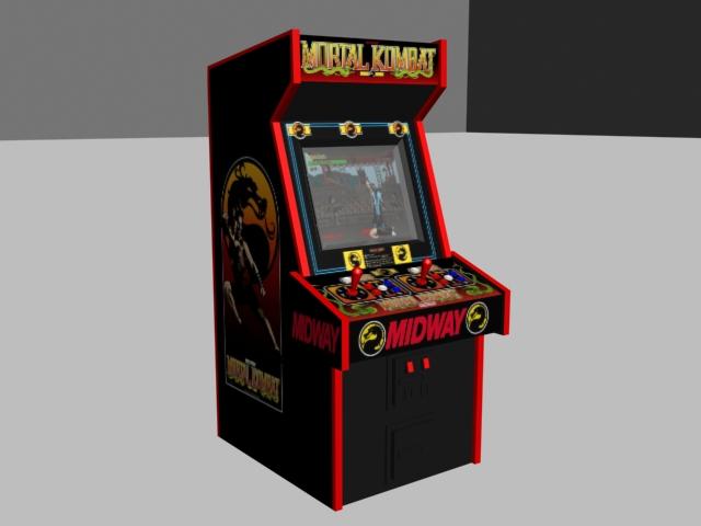 mortal kombat arcade machine by xti2av1sx on deviantart