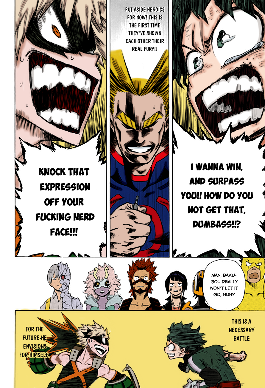 My Hero Academia Colored Pages