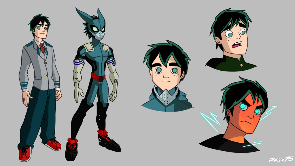 Deku (Spectacular Spider-Man style) by Raijin72675 on ...