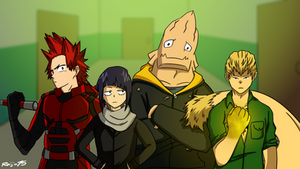 My Hero Academia - Defenders