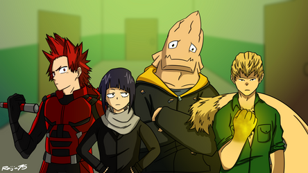 My Hero Academia - Defenders by Raijin72675