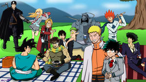 Anime Crossover Picnic