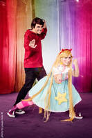 Star and Marco_Cosplay_StarVsTFOE by NeeHime