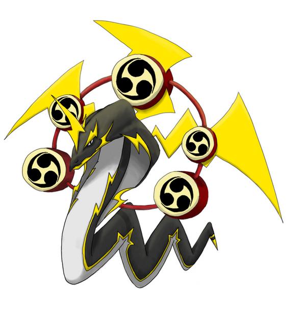 Dragon-Electric: Raijin Dragon by ixfalia