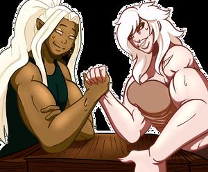 Arm Wrestling!!