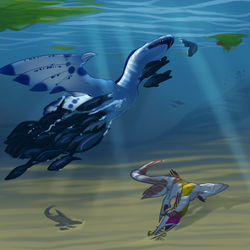 Fishing under the floating isles