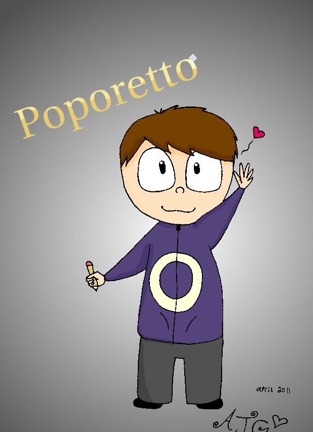 Poporetto fanart by Scarlettthewanderer