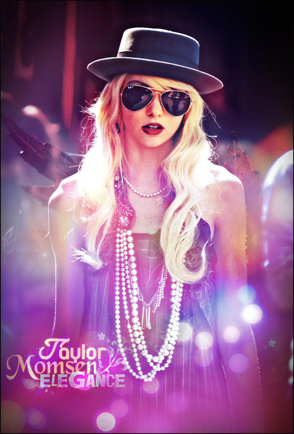 Taylor Momsen Poster by FBM721