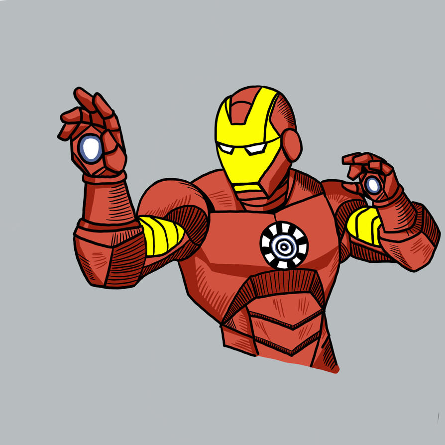 Iron Man  by APStephens