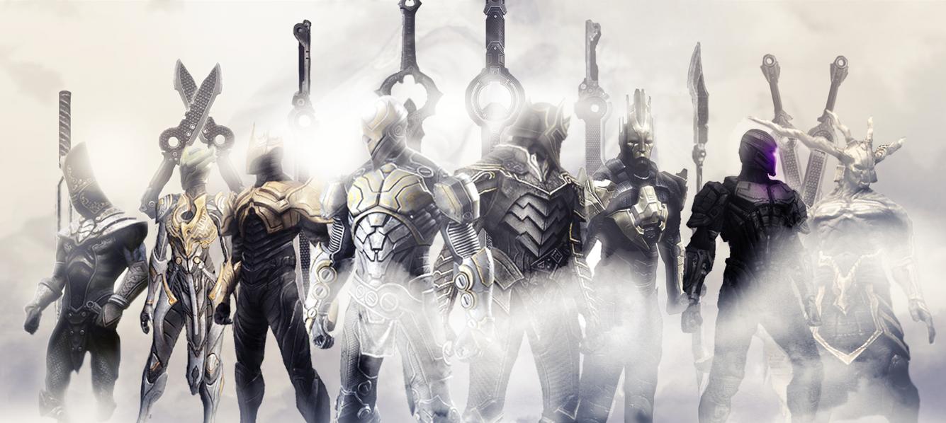Infinity Blade 3 art by voolvif