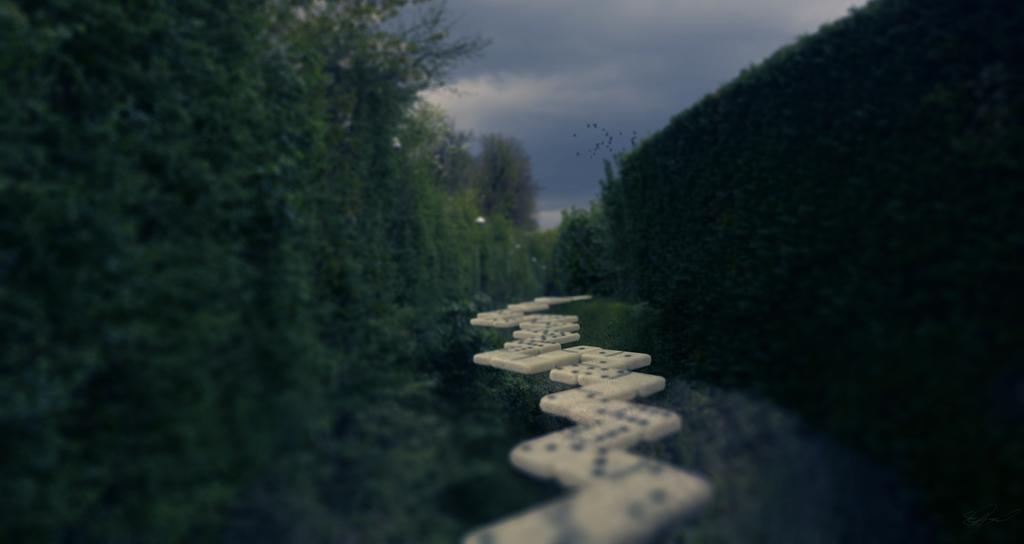 Domino Road (Tabletop 1/3) by voolvif