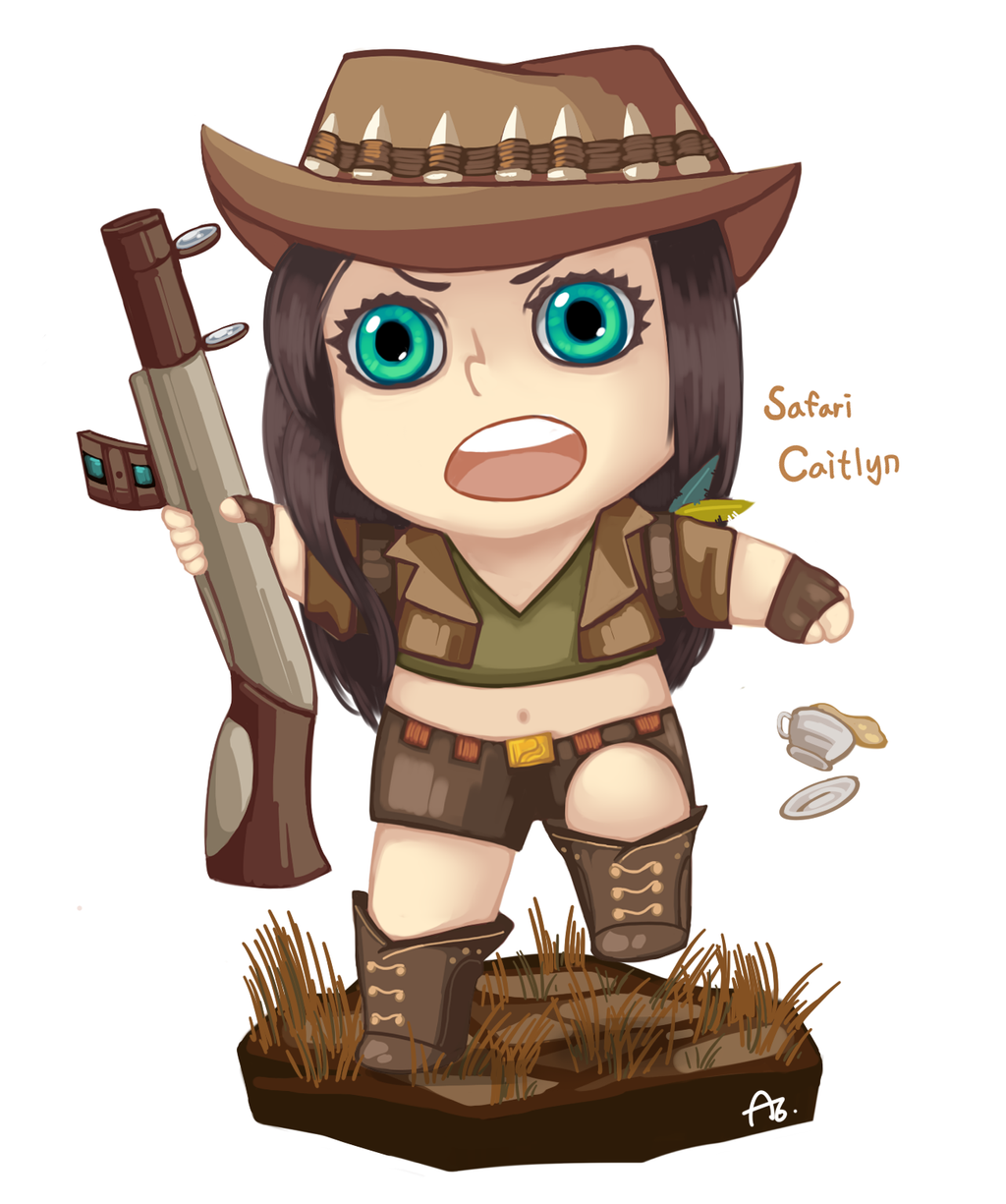 safari caitlyn sd by Nanghyang on DeviantArt