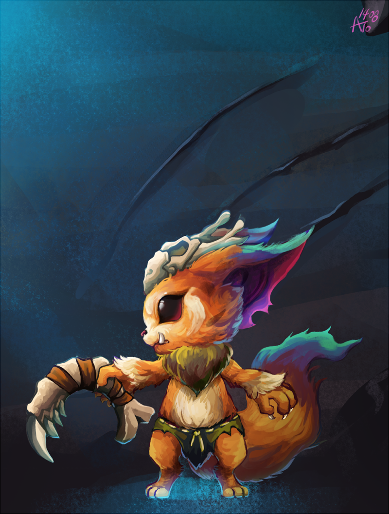lol_gnar by Nanghyang on DeviantArt
