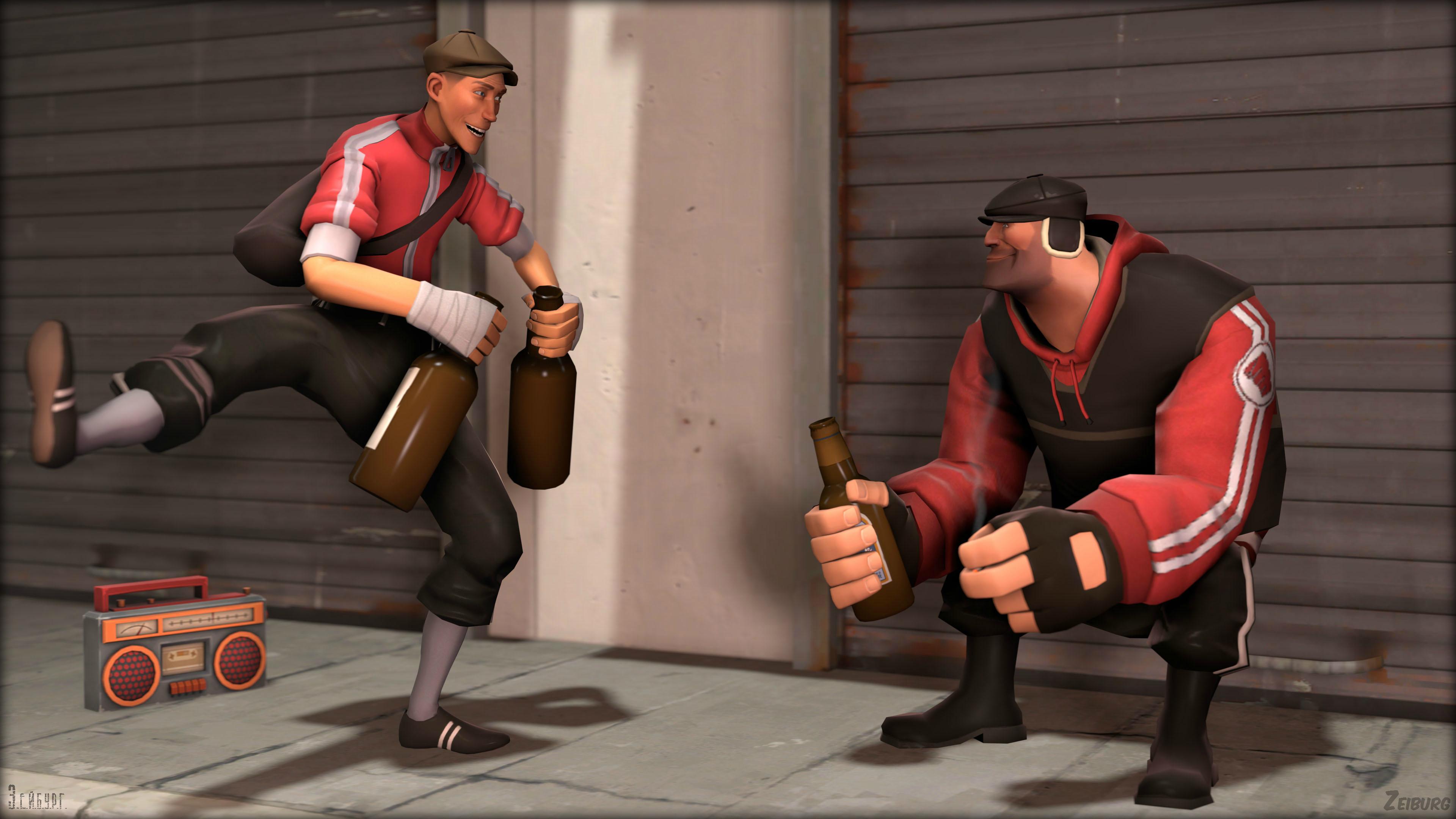 [SFM] Hardbass, squat and Gopniks by Zeiburg-spaps