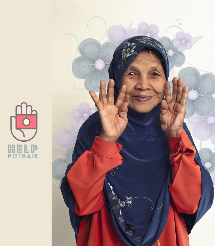 Help-potrait by lamanepa