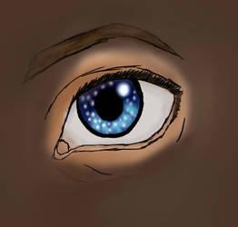 Starlight Eye by BewareTheBlackcats