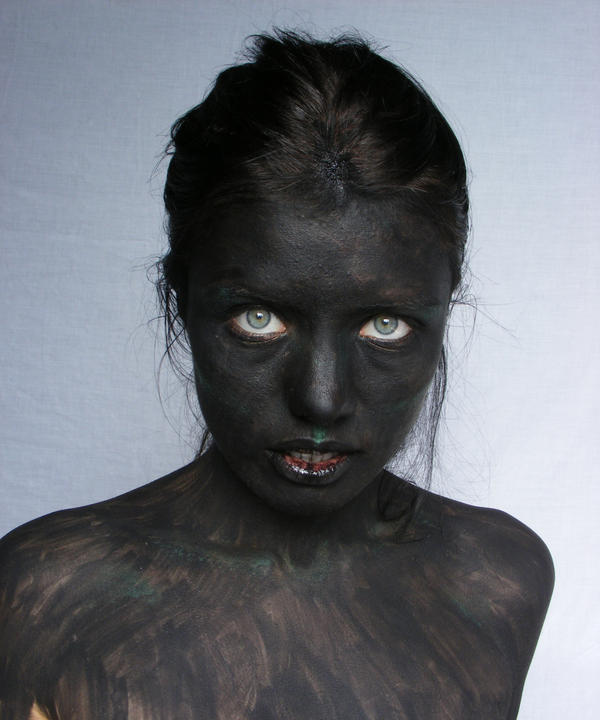Demon Portrait 11 by Tasastock