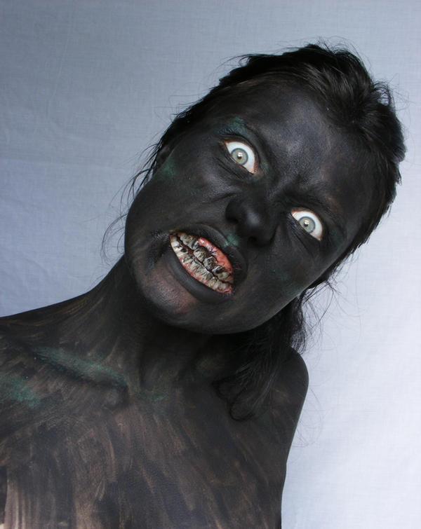 Demon Portrait 12 by Tasastock