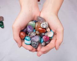 Handful of Crystals 3