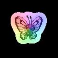 RainbowButterfree by Jeffrey0PokeCreed