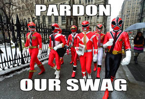 Power Rangers Swag Force by StarStuddedLion