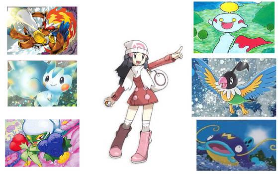 My Pokemon Platinum Team